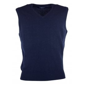 Eden V-Neck Lambswool Slipover