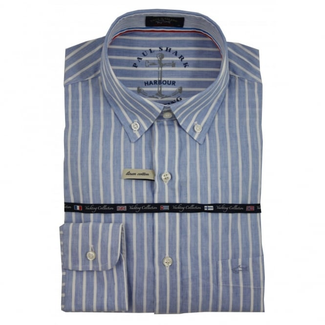 Paul & Shark Solid Stripe Shirt